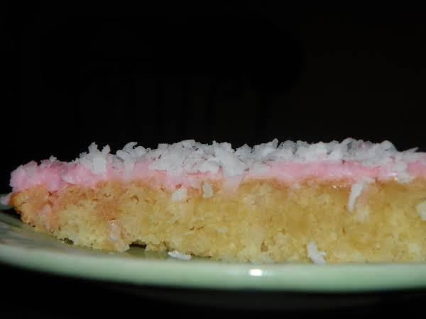 Coconut Slice Dessert