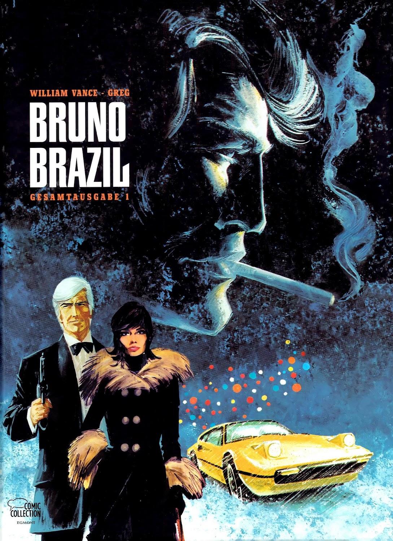 Bruno Brazil Gesamtausgabe (2013) - komplett