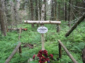 Photo: 15.I sam skromny i cichy grób w lesie nieopodal szlaku.
