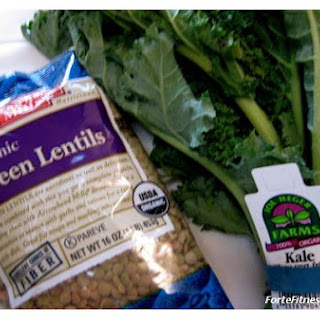 Pumping Iron With Lentils & Kale