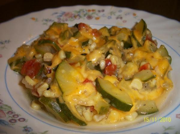 Zucchini With Corn And Cheese ( Calabacitas Con Elote Y Queso ) Recipe