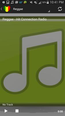 Reggae Music Radio Station - screenshot
