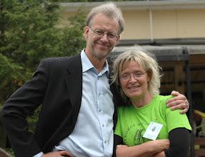 Photo: Fredag 27 juni (dag 2): Bertil Löfdahl (MC) och Ingela