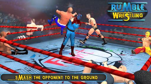 RUMBLE WRESTLING EVOLUTION : WRESTLING GAMES FIGHT 1.4 screenshots 1