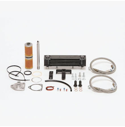 Oil cooler kit centered for BMW R2V Boxer models