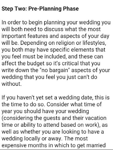 Wedding Planner Book  screenshots 15