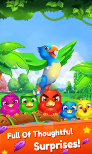 Bird Mania - Free Match 3 Game - náhled