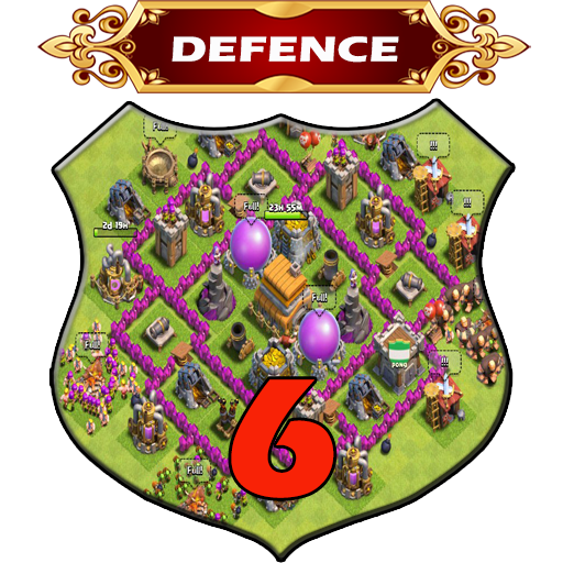 Town Hall 6 Defence Base Layouts