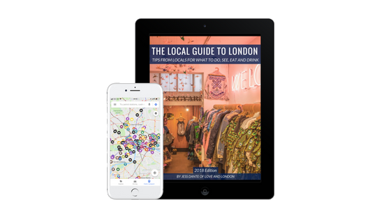 recommendations app for london