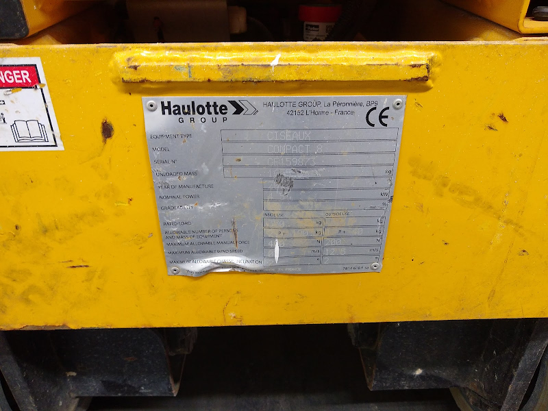 Picture of a HAULOTTE COMPACT 8