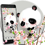 Cuteness Shy Panda Theme Icon