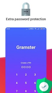 Gramster — Anonymous Instagram + Story Saver Screenshot