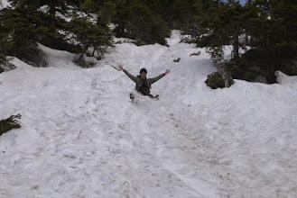 Photo: 滑って下山したほうが楽だし速い!