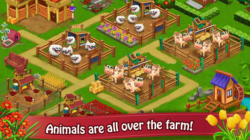 Farm Day Village Farming: Offline Games modavailable screenshots 16