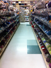 Photo: It's yarn heaven. I need to knit one of my kiddos a hat.