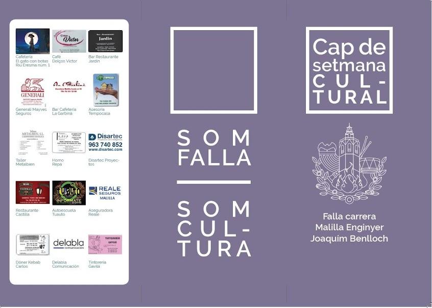 """IV Setmana Cultural-Festa Mig Any"". Carrera Malilla - Ingeniero Joaquin Benlloch."