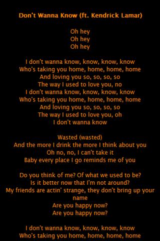 Maroon 5: ecco il nuovo singolo don't wanna know (audio)   bitchyf.