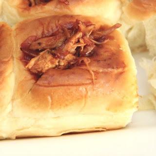 Pull Apart BBQ Chicken Slider Recipe