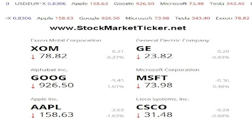 Stock Ticker Apps On Google Play