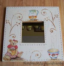 Photo: wooden mirror 15