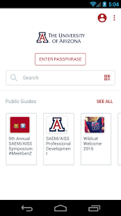 University of Arizona- screenshot thumbnail