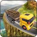 Euro Truck Driving Games : Log, Cargo Transporter icon