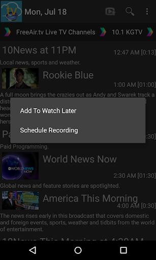 FreeAir.tv: Watch, Pause, Record Live TV anywhere 3.12.01 screenshots 5