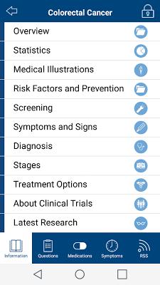 Cancer.Net Mobile - screenshot
