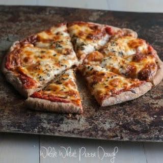 Fail Proof Whole Wheat Pizza Dough.