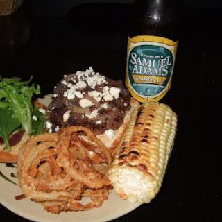 Blue Cheese/Tobasco Burger.