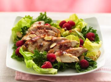 Grilled Raspbery Chicken Chipolte Salad Recipe