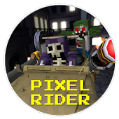 Pixel Rider - Zombie Shooter