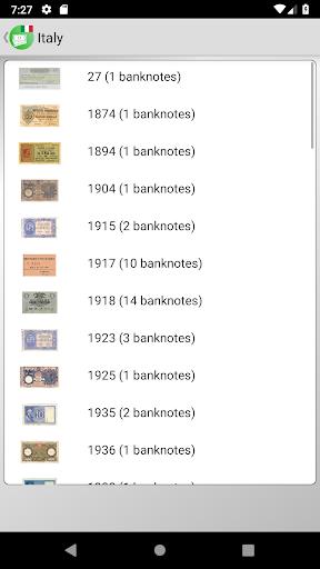 Banknotes of Italy screenshot 2