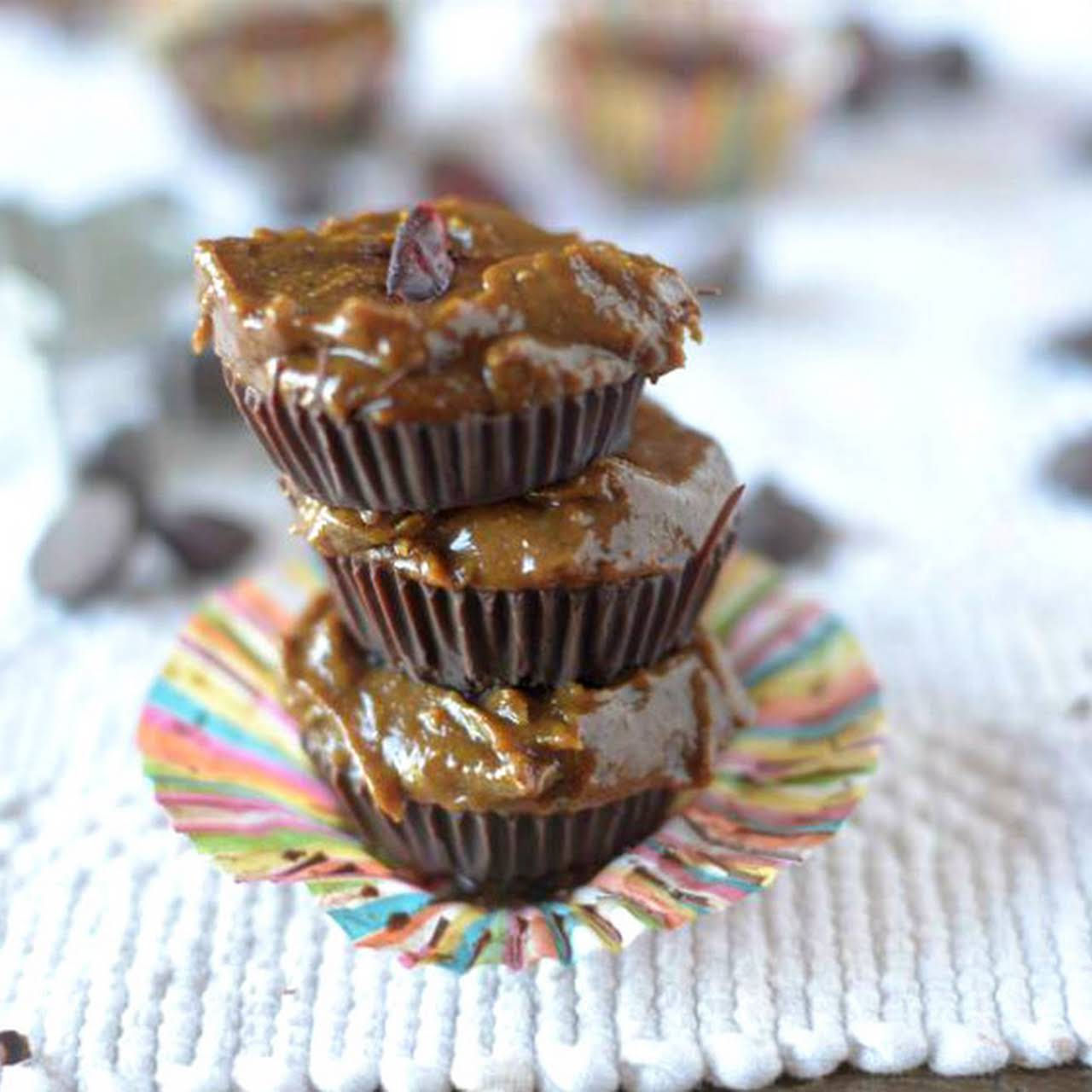 Chocolate Gingerbread Cups