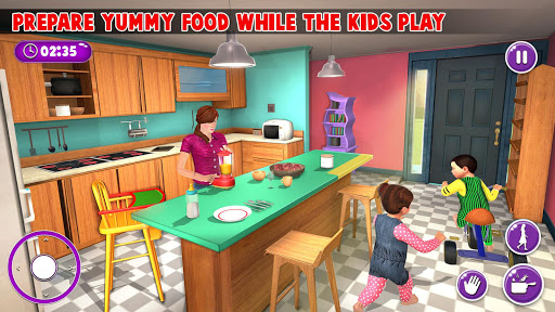Virtual Mother New Baby Twins Family Simulator 2.0.6 screenshots 1