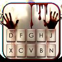 Horror Bloody Hands Keyboard Theme 1.0