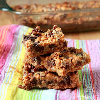 Hello Dolly Cookie Bars.