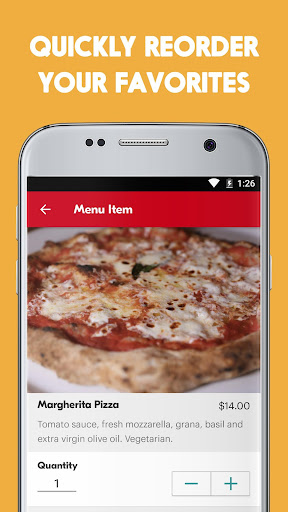 Screenshot for Seamless: Restaurant Takeout & Food Delivery App in United States Play Store