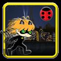 Chibi Ninja Hero Black Cat Dom icon