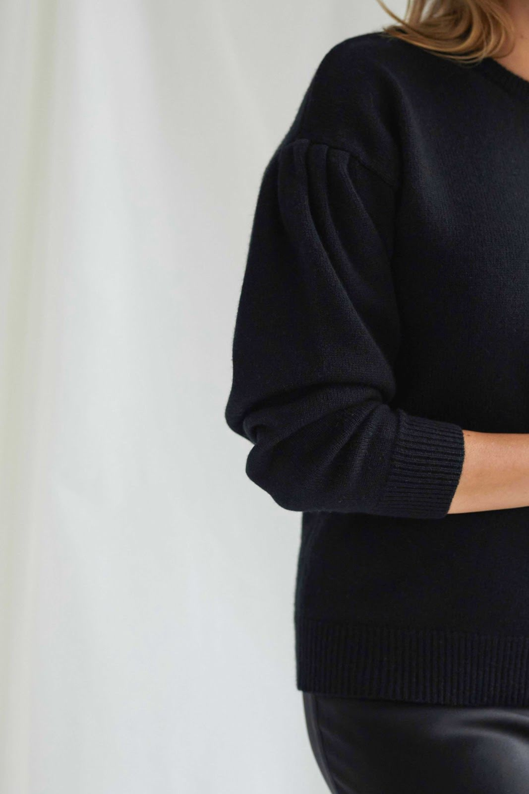 Volume Sleeve Sweater