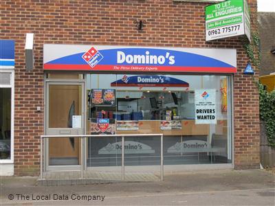 Dominos Pizza On Salisbury Road Pizza Takeaway In Totton