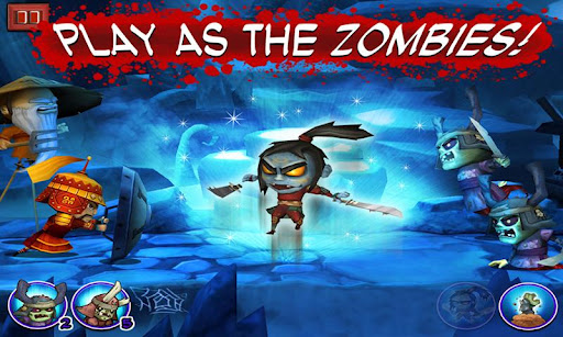 SAMURAI vs ZOMBIES DEFENSE screenshot 3
