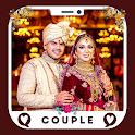 Punjabi Wedding Couple Indian Frames icon