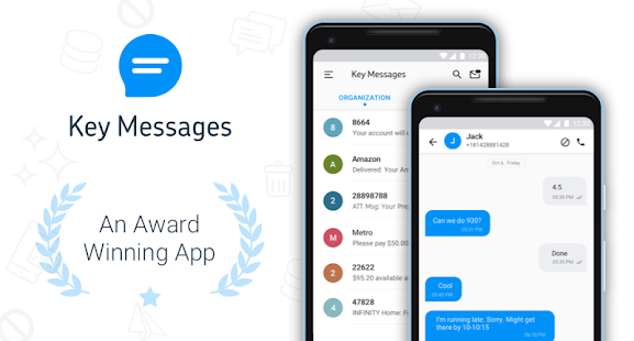 Block Text, SMS, Spam Blocker - Key Messages Screenshot