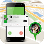 Mobile Number Location Tracker With GPS Location Icon