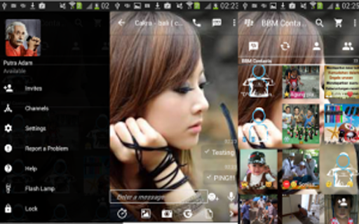 Make transparent bbm v10