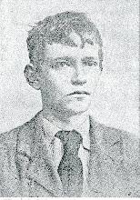 Photo: Harald Kidde, som gymnasiast på Vejle- Latin og Realskole, 1897.
