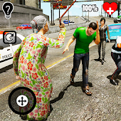 San Andreas Angry Granny Android APK Download Free By ActionCrab Games