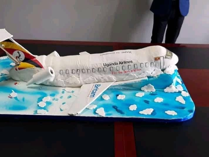 Ugandan's troll 'crashed' airline cake
