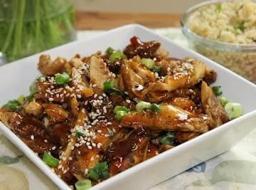Teriyaki Sesame Seed Chicken Thighs Recipe